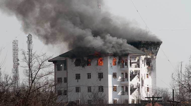 Why dont Indian Army Blows u such buildings ?