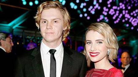 Formerly engaged Emma Roberts, Evan Peters caught kissing