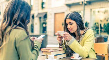 Smartphone rendering teenagers, distressed teenagers, lonely teenagers, lifestyle news, Indian express news