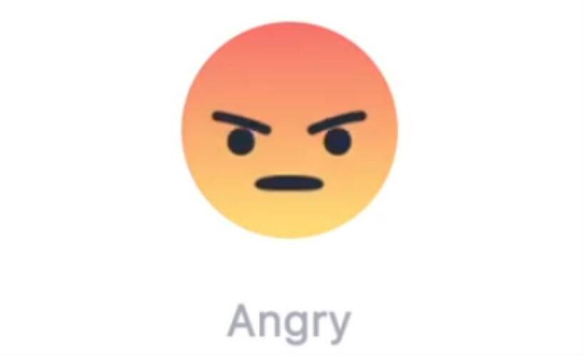 angry face emoticon facebook - photo #2
