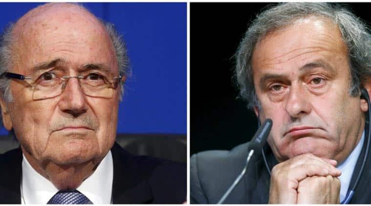 FIFA bans, FIFA Ban, Sepp Blatter, Michel Platini, Blatter FIFA ban, Platini FIFA ban, Football News, Football