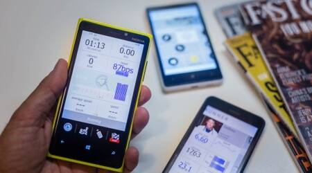 Fitness apps, health monitor and apps, apps for health, monitor blood pressure app, BP app, health apps, fitness apps disadvantages, indian express, indian express news.