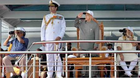 India's naval might on full display at International Fleet review off Vizagcoast