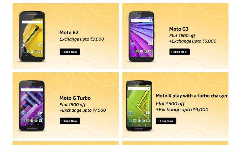 Moto, Flipkart, Moto discounts, Moto G3, Moto G Turbo Edition, Motorola, Moto Flipkart, Moto G Turbo discount, Moto X Style discount, smartphones, technology, technology news
