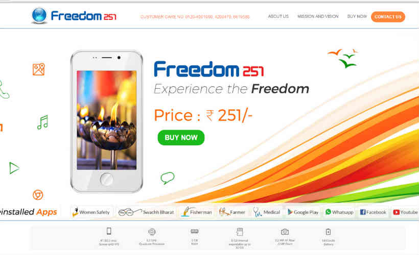 freedom 251, freedom251, ringing bells, freedom 251 phone, freedom mobile, India's cheapest smartpone, world's cheapest smartphone, Freedom 251, ringing bell, 251 rupees phone, make in india smartphone, cheapest smartphone, freedom 251 mobile, bell mobile, buy Freedom 251, smartphones, technology, technology news