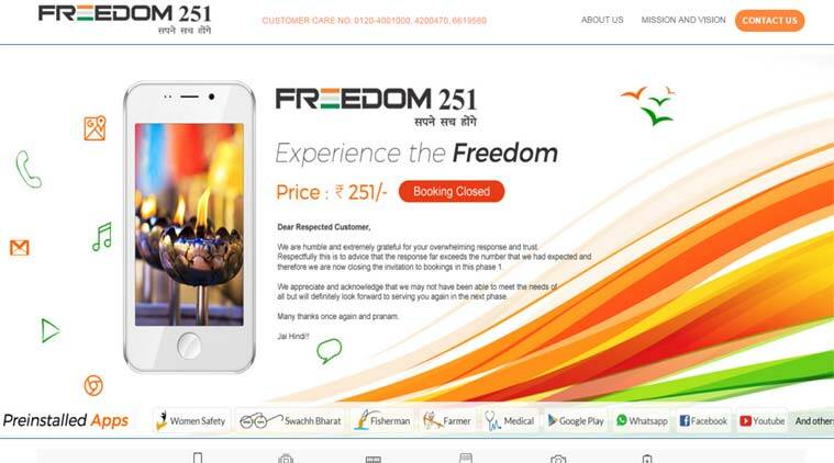 Freedom 251 COD, Cash on delivery for Freedom 251, Freedom mobile, Freedom 251 price, Freedom 251 Ringing Bells, Ringing Bells price, Ringing Bells order, Freedom 251 order, mobile cheap, cheapest mobile, technology, technology news