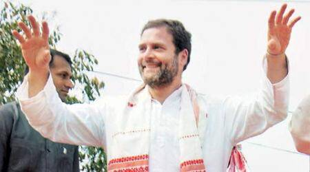 Assam polls: Rahul Gandhi plays regional card, Tarun Gogoi calls BJP 'outsider'