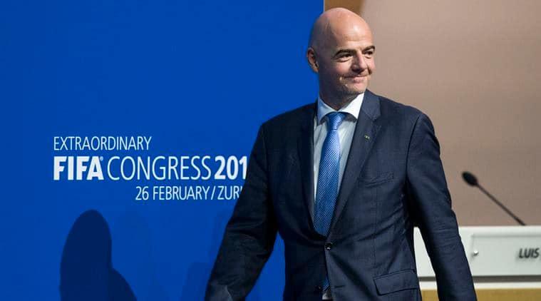 FIFA, FIFA president, Gianni Infantino, Infantino, AIFF, Praful Patel, Patel, Football news. FIFA news, FIFA updates, football updates, football