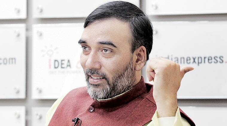 Gopal Rai AAP, Gopal Rai in charge of AAP MP unit, Aam Aadmi Party, Arvind kejriwal, kejriwal Parivartan Rally, MP elections, Madhya Pradesh elections, indian express news