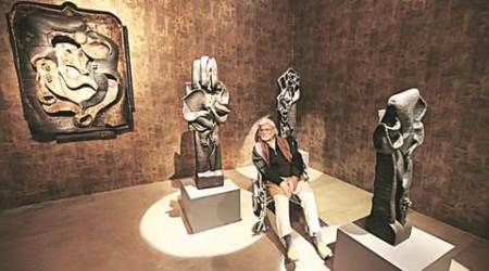 artist, satish gujral, pahalgam, delhi, art, lifestyle,indian express talk