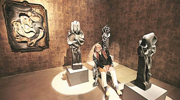 artist, satish gujral, pahalgam, delhi, art, lifestyle,indian express talk