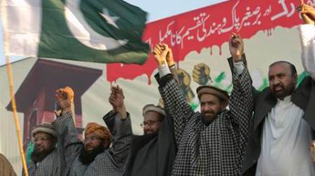 hafiz saeed, pakistan kashmir day, saeed anti india rally, pakistan anti india rally, JuD hafiz saeed, hafiz saeed india threat, India Pakistan, Kashmir Hafiz saeed, india news, pakistan news, latest news