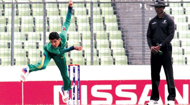 Hasan Mohsin came good with an all-round display for Pakistan. He top scored with 86 and then took two wickets with the new ball. (Source: ICC)
