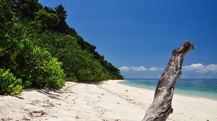 Elephant Beach on Havelock - Andaman & Nicobar Islands, India