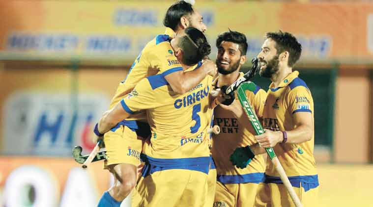 Right from the start, Punjab's forwards overwhelmed their opponents and put their defenders under massive pressure, thus winning the match in style.