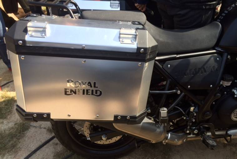 Watch Royal Enfield Unveiled The 411cc Tourer Himalayan Auto