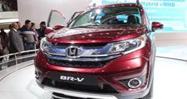 Auto Expo 2016: HONDA BR-V First Look Video