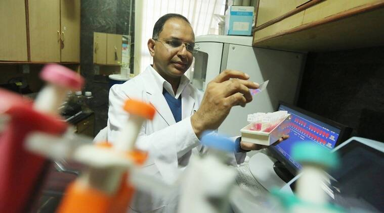Dr Deepak Agarwal, professor of neurosurgery at AIIMS. (Photo: Tashi Tobgyal)
