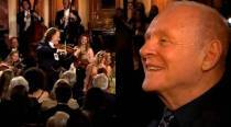 Watch Sir Anthony Hopkins as he hears the waltz he wrote 50 years ago for the first time