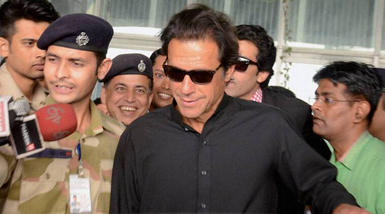 "Cricketer-turned-politician Imran Khan on Tuesday called Prime Minister Nawaz Sharif a ""security risk"" for the country as he was only interested in saving himself from the accountability in the wake of the Panama Papers leaks."