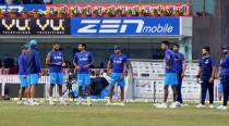 Teams ready for sandy outfield in Ranchi