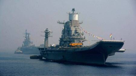 INS Vikramaditya and INS Virat (PTI Photo)