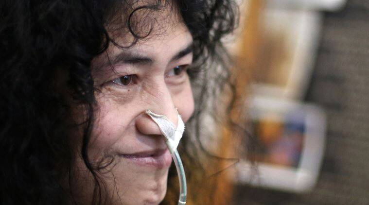 Irom Sharmila, Irom Sharmila fast, Irom sharmila manipur,AFSPA, AFSPA manipur,  Irom sharmila AFSPA, civil rights activist, Civil rights activists Irom Sharmila, Irom Sharmila breaks fast, irom sharmila afspa repeal, Irom sharmila manipur elections, manipur news, india news