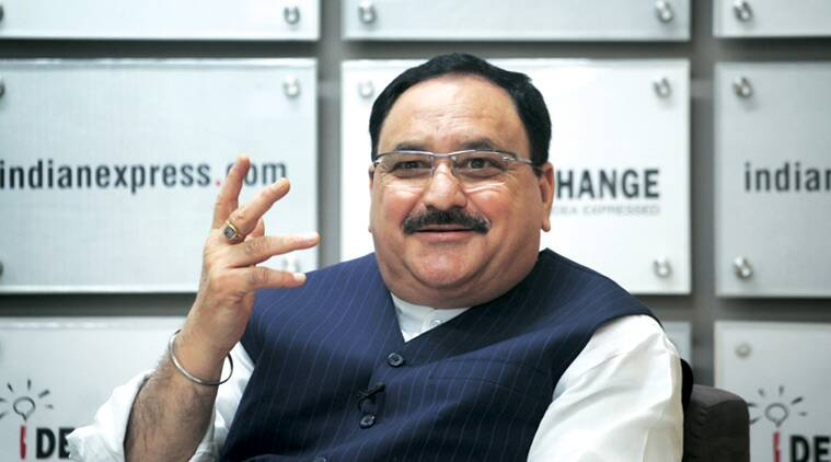 J P Nadda, Health Minister, AIIMS, News AIIMS, AIIMS in Gujrat, Indian Express, India News, Latest News, City News
