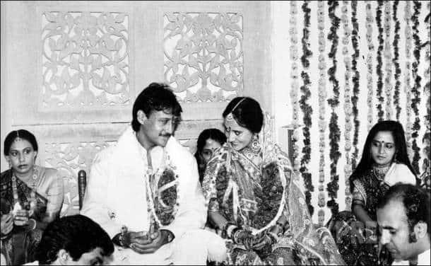 Jackie Shroff, Ayesha Dutt, Ayesha Shroff, Ayesha Jackie wedding