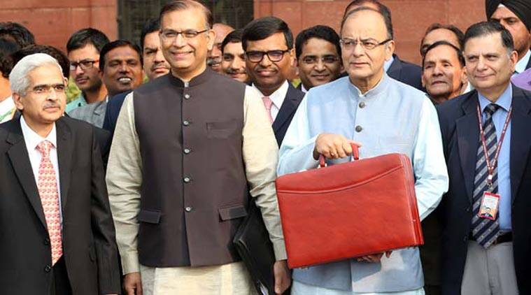 Image result for Arun Jaitley's budget