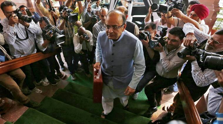 Budget 2016 LIVE: Finance Minister Arun Jaitley arrives at the Parliament to present the federal budget for the 2016/17 fiscal year, in New Delhi, India, February 29, 2016. (REUTERS/Adnan Abidi )