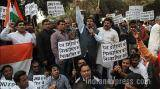 ABVP protests JNU event, 90 detained