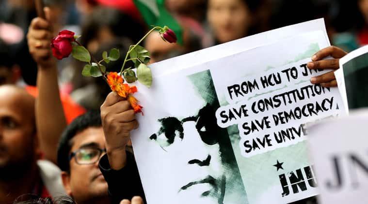 Kanhaiya Kumar, JNU, BJP, RSS, Umar Khaled, Jihadi, terrorist, jawaharlal nehru university, freedom of speech, sedition, anti-national, rahul gandhi, student politics