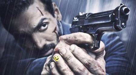John Abraham shares new poster of 'Rocky Handsome'