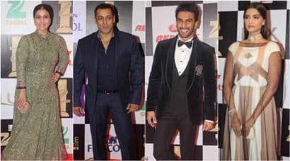Salman Khan, Ranveer Singh, Sonakshi Sinha, Anil Kapoor, zee cine awards, Arjun Kapoor, Parineeti Chopra, Kriti Sanon, Subhash Ghai, Sonam Kapoor, Shatrughan Sinha, Sushant Singh Rajput and Ankita Lokhande, Rohit Shetty, Vidyut Jammwal, Kajol, Riteish Deshmukh, Amy Jackson, awards, zee cine awards