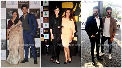 Kajol, Sidharth, Shahid, Sonakshi, Kriti style it up