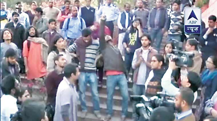 JNU video, kanhaiya sedition video, kanhaiya kumar, JNUSU president, JNU row, kanhaiya kumar in tihar jail, kanhaiya arrested, india news, indian express