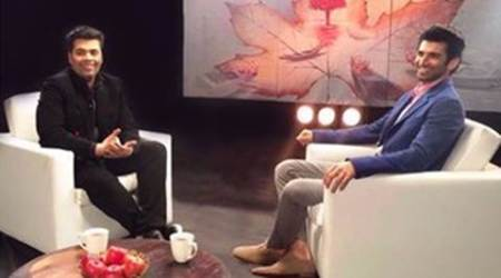 Fitoor, Aditya Roy Kapur, Karan Johar, Aditya Roy Kapoor, Aditya Roy Kapur film, Aditya Roy Kapur upcoming film, Karan Johar show, Karan Johar chat show, entertainment news