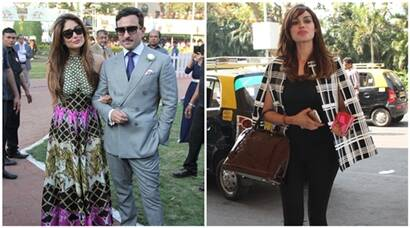 Kareena, Saif step out for derby day, Gizele Thakral ready for a flight