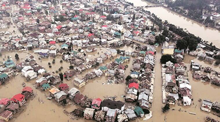 riverside construction, The Ministry of Environment and Forests, blueprint for river regulation zones, Kashmir valley, floods