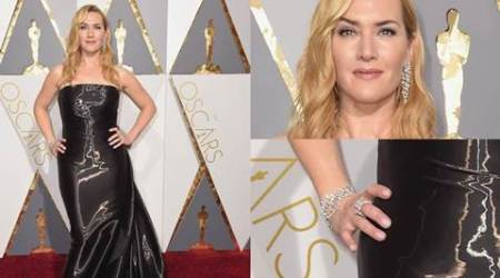 Kate Winslet sports Indian designer Nirav Modi jewels in her Oscars look