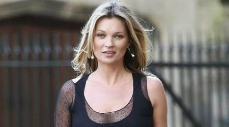Kate Moss suffers leg injury on Swiss ski slopes