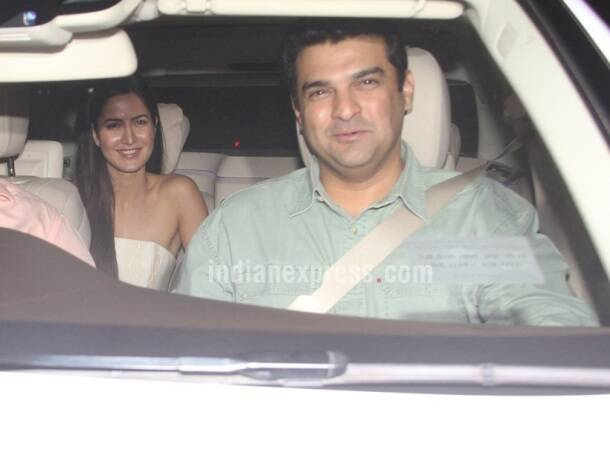 Katrina Kaif, Katrina Kaif dress fitoor screening