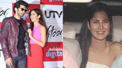 Katrina Kaif, Aditya have a busy day: Promote Fitoor, later watch with friends