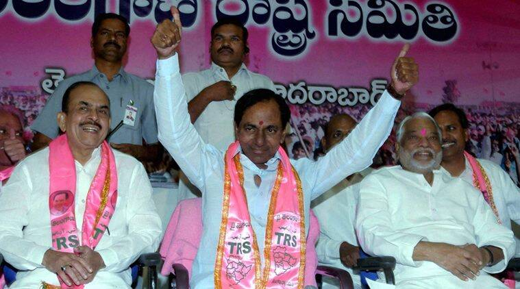 telangana, telangana CM, chandrasekhar rao, TSR Meet, K Chandrasekhar Rao, Chandrasekhar Rao, TRS chief, Telangana, Amit Shah, Indian express news, India news, Latest news