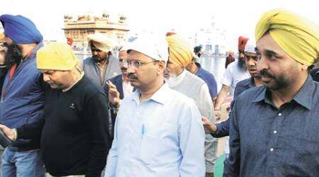 Kejriwal in Punjab: 'Will end goonda tax in 24 hrs, jail drug dealers in 3 months'