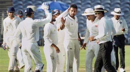 Ranji Trophy Final: Dhawal Kulkarni swings it Mumbai's way; Saurashtra 192 for 8
