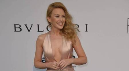 Kylie Minogue sparks engagement rumours