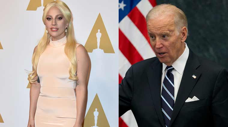 Oscars 2016, Joe Biden, Lady Gaga