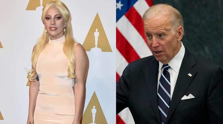 Oscars 2016, Joe Biden, Lady Gaga